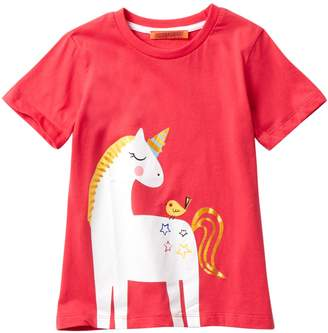 Funkyberry Unicorn Top (Toddler & Little Girls)