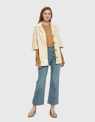 Acne Studios Taguhy Straight Leg Jean in Blue Vintage