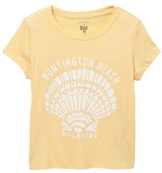 Billabong Huntington Beach Golden Tidez T-Shirt (Little Girls & Big Girls)