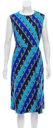 Mary Katrantzou Printed Midi Dress