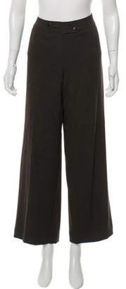 Armani Collezioni High-Rise Pants Brown High-Rise Pants
