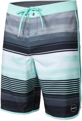 """O'Neill Men's Hyperfreak Heist Stripe 20"""" Boardshorts $55 thestylecure.com"""