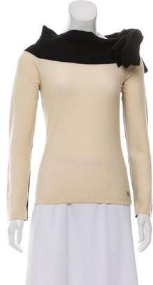 Sonia Rykiel Draped Wool Sweater