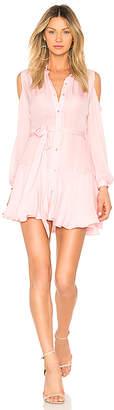 Karina Grimaldi Cut Mini Dress