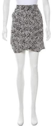 Yumi Kim Silk Printed Skirt