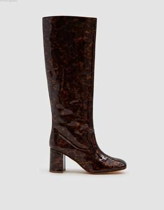 Maryam Nassir Zadeh Lune Patent Tortoise Boot