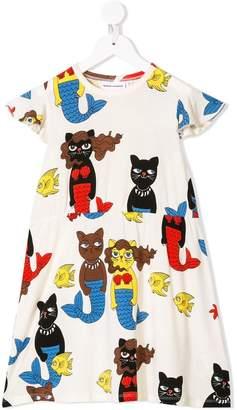 Mini Rodini Cat Mermaid dress