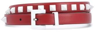 Valentino Free Rockstud leather belt