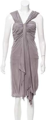 Yigal Azrouel Draped Cocktail Dress
