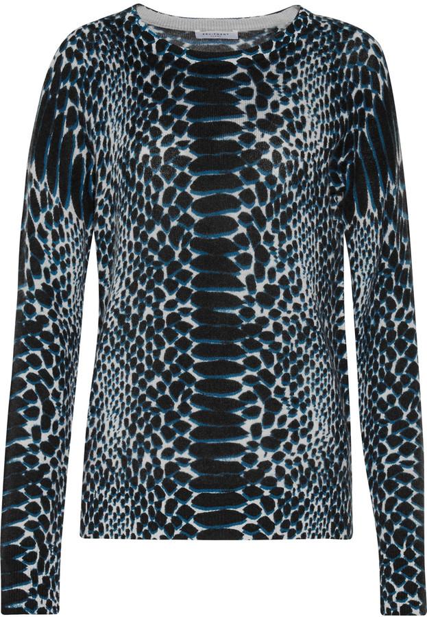 EquipmentEquipment Sloane printed cashmere sweater
