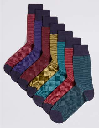 Marks and Spencer 7 Pack Cool & Freshfeet Assorted Socks