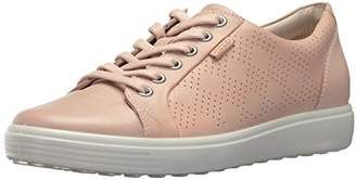 Ecco Women's Soft Perforated Fashion Sneaker