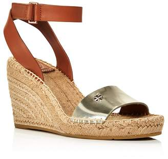 Tory Burch Women's Bima Espadrille Platform Wedge Sandals