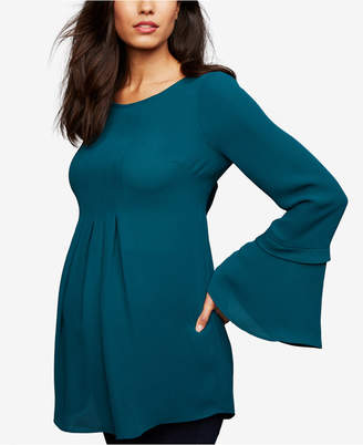 A Pea in the Pod Maternity Bell-Sleeve Tunic