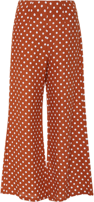 Faithfull Polka Dot Tomas Cropped Pant