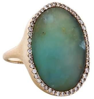 Monique Péan 18K Diamond & Opal Cocktail Ring