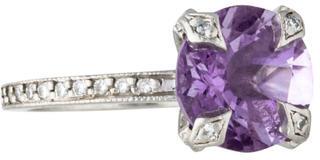 Cathy WatermanCathy Waterman Platinum Amethyst & Diamond Ring