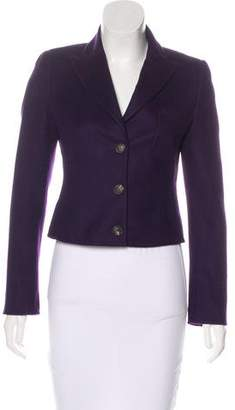 Akris Cashmere Notched-Lapel Blazer