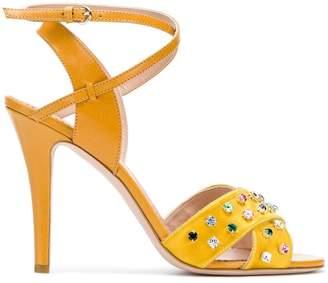 RED Valentino embellished sandals