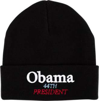 Supreme Obama Beanie - 'FW 18' - Black