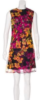 Isolda Sleeveless Silk Dress