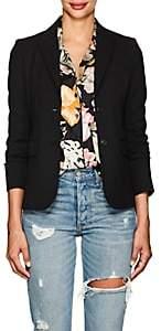 Barneys New York Women's Wool Two-Button Blazer-Black