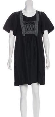 3.1 Phillip Lim Linen-Blend Embroidered Dress