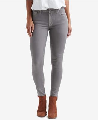 Lucky Brand Ava Coated Skinny Jeans