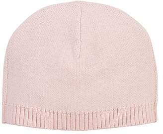 Barneys New York Kids' Stockinette-Stitched Hat - Pink
