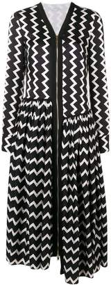 Stella McCartney sage long silk dress