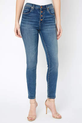 Blank NYC The Bond Button Front Jean