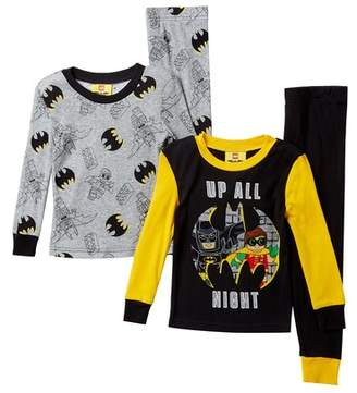 Lego SGI Apparel Batman Up All Night Cotton PJs - Set of 2 (Little Boys & Big Boys)