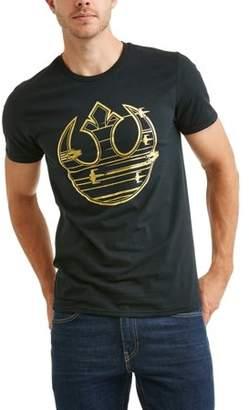 Star Wars Movies & TV Men's gold rebel logo graphic tee