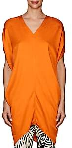 Zero Maria Cornejo WOMEN'S MALA TWILL TUNIC - ORANGE SIZE 6