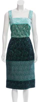 Dolce & Gabbana Brocade Matelassé Dress w/ Tags