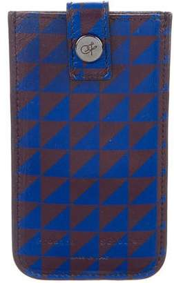 Proenza Schouler Leather Printed iPhone Case