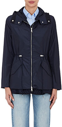 Moncler Women's Lotus Hooded Jacket $955 thestylecure.com