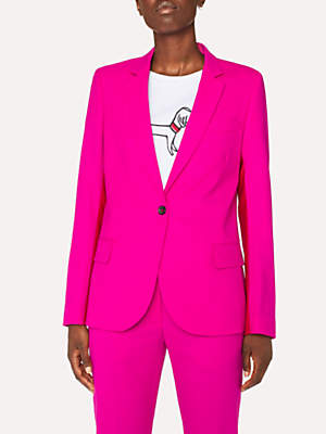 Paul Smith Colour Block Jacket, Fuchsia