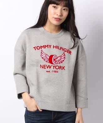 Tommy Hilfiger (トミー ヒルフィガー) - TOMMY HILFIGER コンフォートフィットロゴスウェットシャツ
