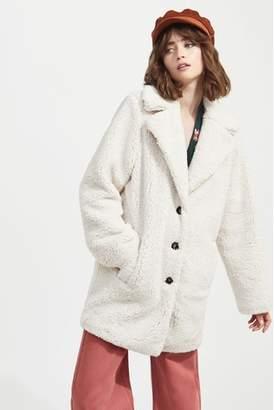 Next Womens Miss Selfridge Teddy Coat