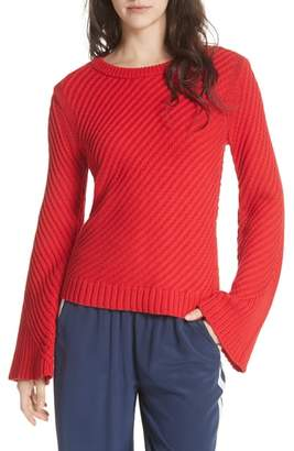 Joie Lauraly Cutout Back Sweater