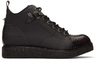 T.U.K. Stay Made Black Edition Primed Canvas Boots
