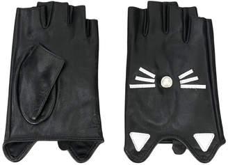 Karl Lagerfeld Choupette gloves