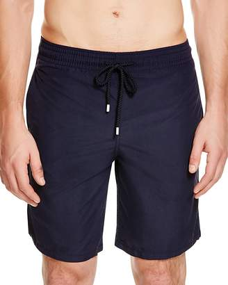 Vilebrequin Okoa Solid Swim Trunks $190 thestylecure.com