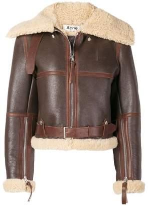 Acne Studios midsize shearling jacket