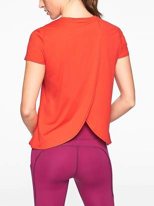 Athleta Sunlover UPF Tulip Back Tee