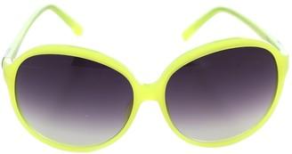 Matthew Williamson Yellow Plastic Sunglasses