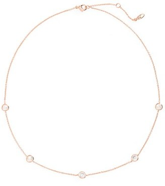 Women's Nadri Cubic Zirconia Bezel Station Necklace $58 thestylecure.com
