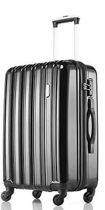 WR (ダブル アール) - [レジェンドウォーカー] legend walker ファスナータイプ ダイヤル式 TSAロック搭載 スーツケース 5096-58 BK (ブラック)