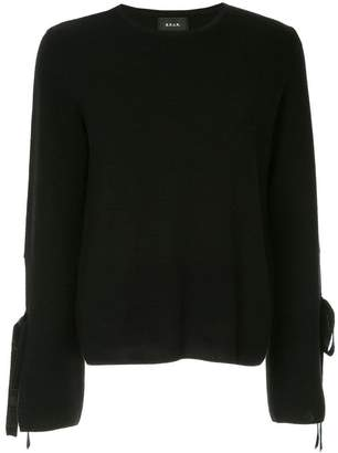 G.V.G.V. Milano ribber bow knit sweater